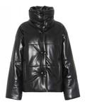 Nanushka Hide Jacket - Black