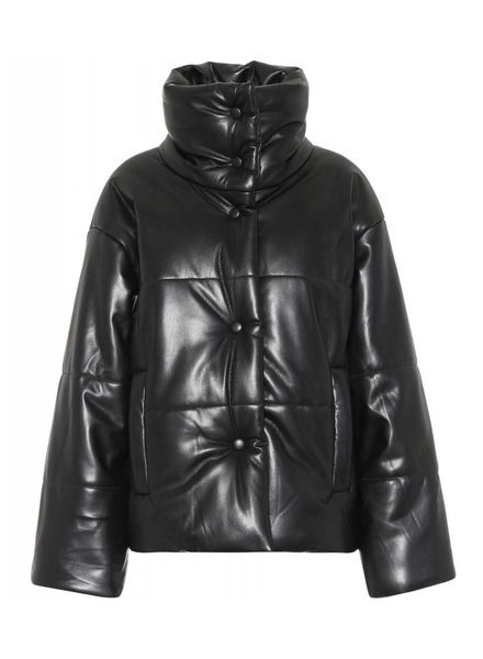 Nanushka Hide Jacket - Black