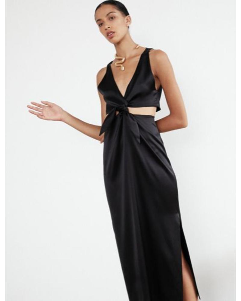 Nanushka Regina dress - Black