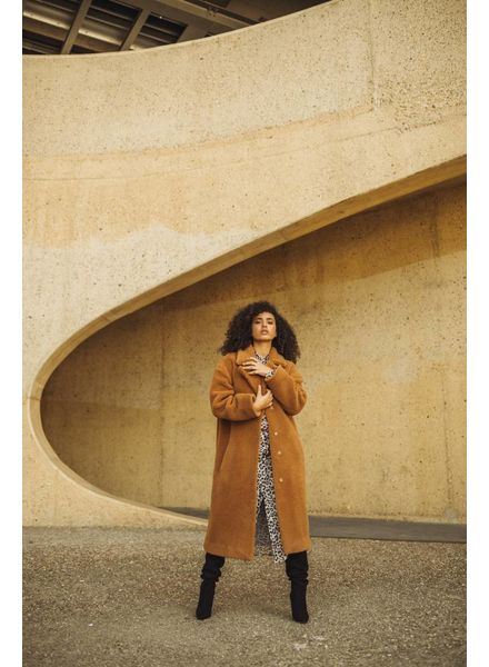 Liv The Label Lindbergh coat - Camel