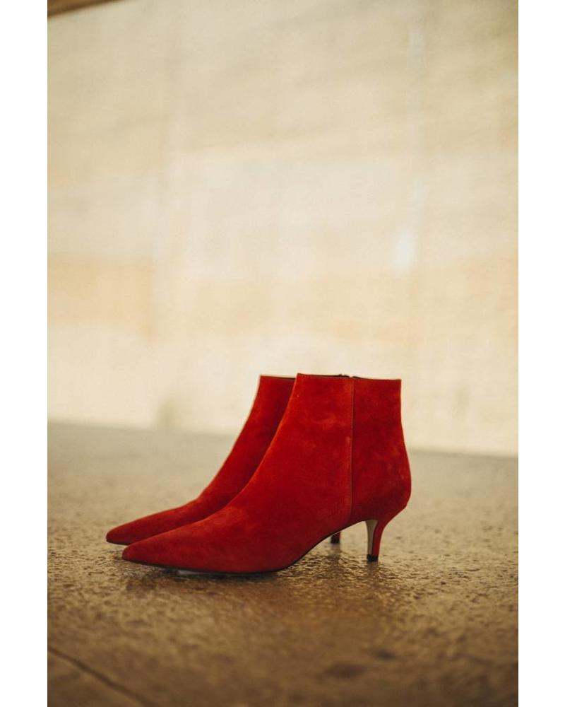 Liv The Label Liz shoes - Suede Red
