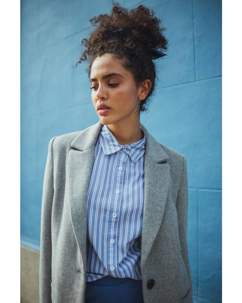 Liv The Label Schiele coat - Light grey