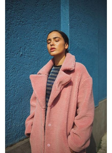 Liv The Label Lindbergh coat - Pink