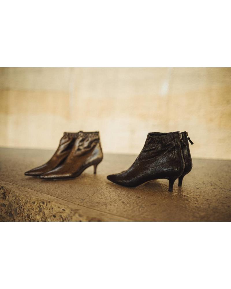 Liv The Label Lara shoes - Dark Crackled
