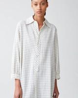 Hope Icon shirt - Off white Check