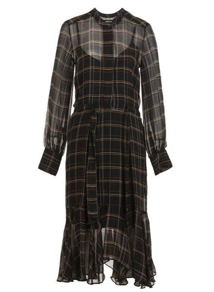Magali Pascal Alma dress - Tartan Black
