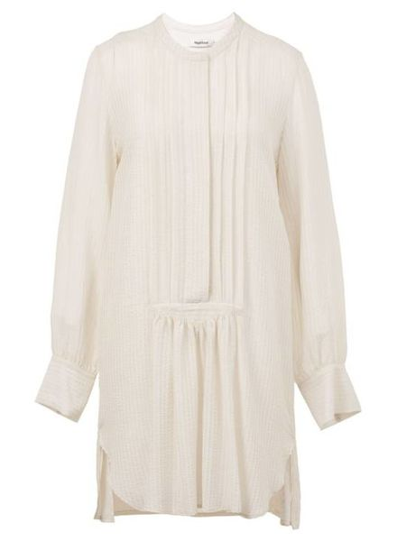 Magali Pascal Anine Shirt Dress - Dusty White