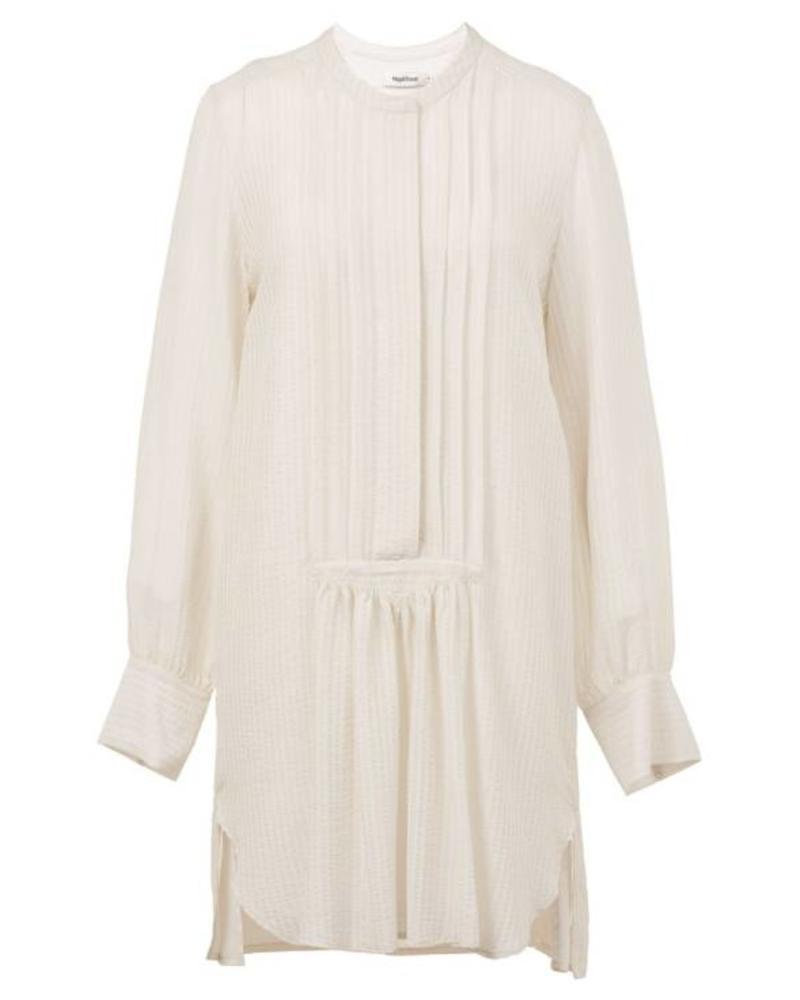 Magali Pascal Anine Shirt Dress - Dusty White