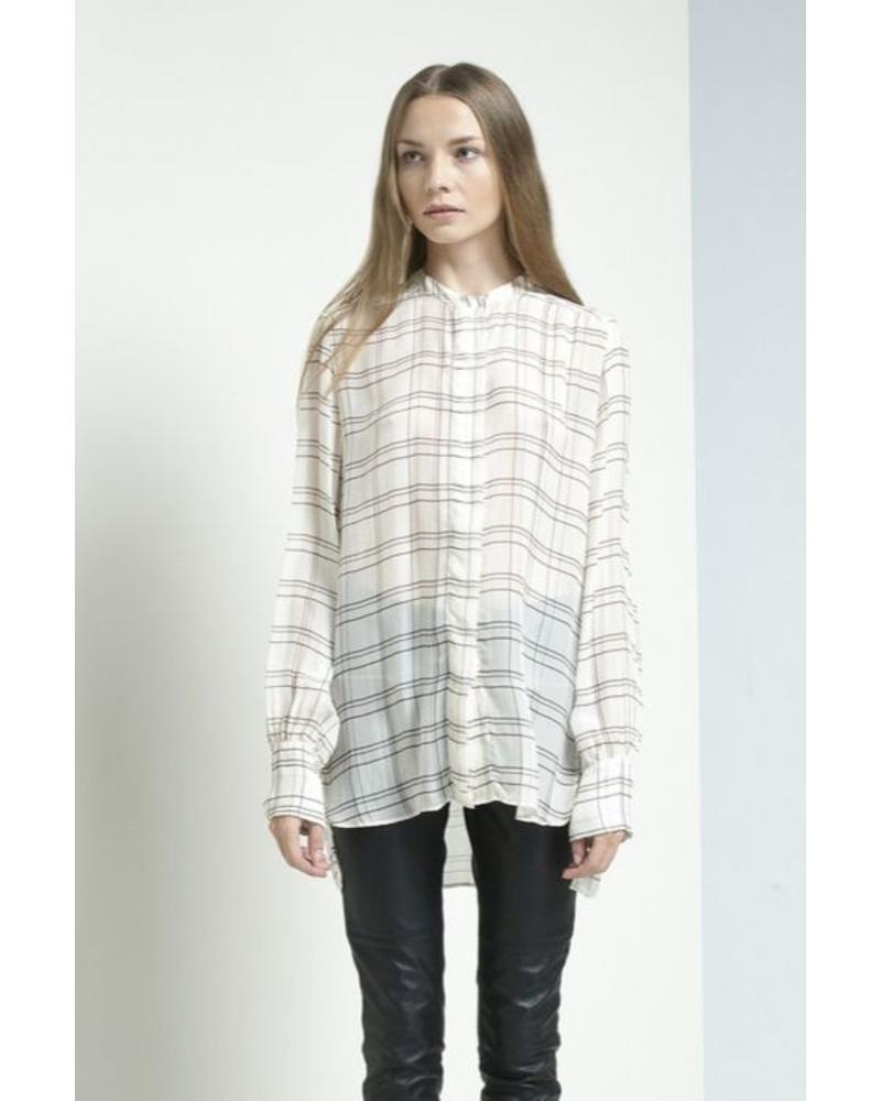 Magali Pascal Alma Shirt - Tartan Ivory