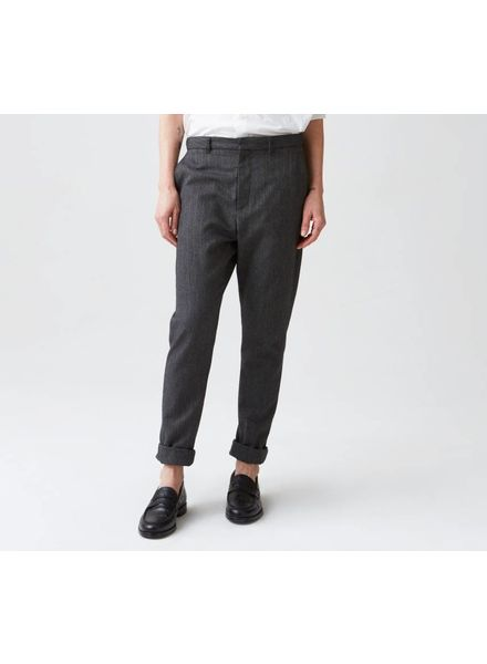 Hope News Trouser - Yellow Stripe