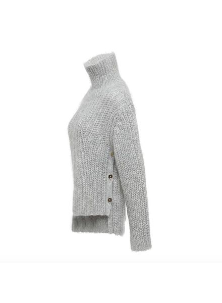 Julie Fagerholt Kassy turtleneck - Light Grey
