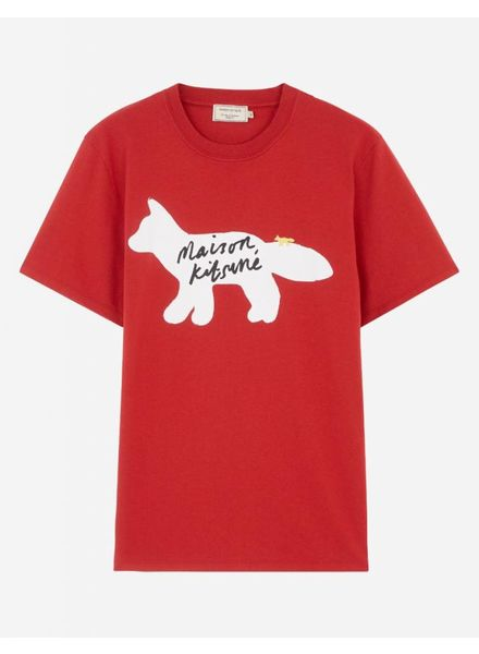 Maison Kitsuné T-shirt Fox handwriting