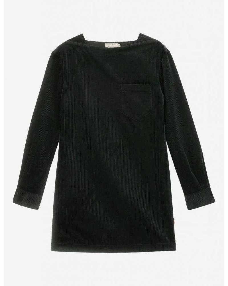 Maison Kitsuné Cara pocket dress - Dark Green