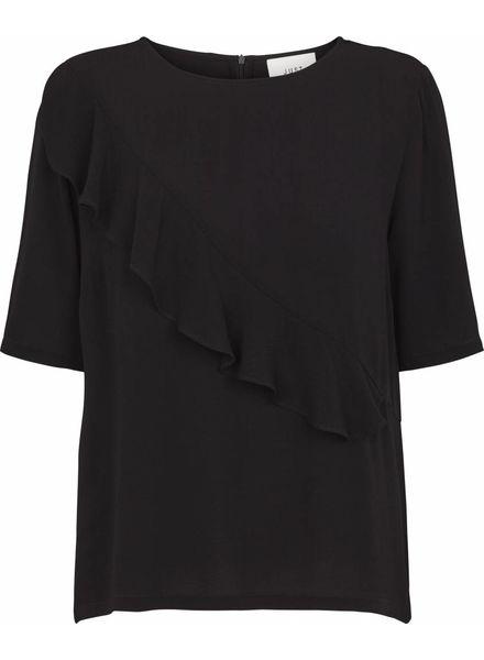 Just Female Cecilie blouse - Black