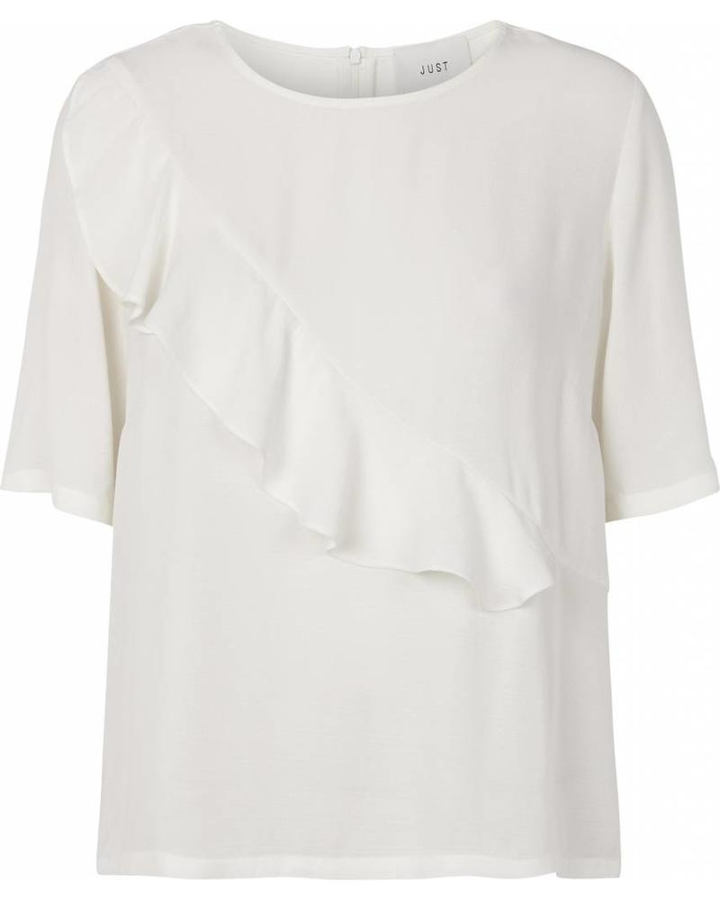 Just Female Cecilie blouse - Off White
