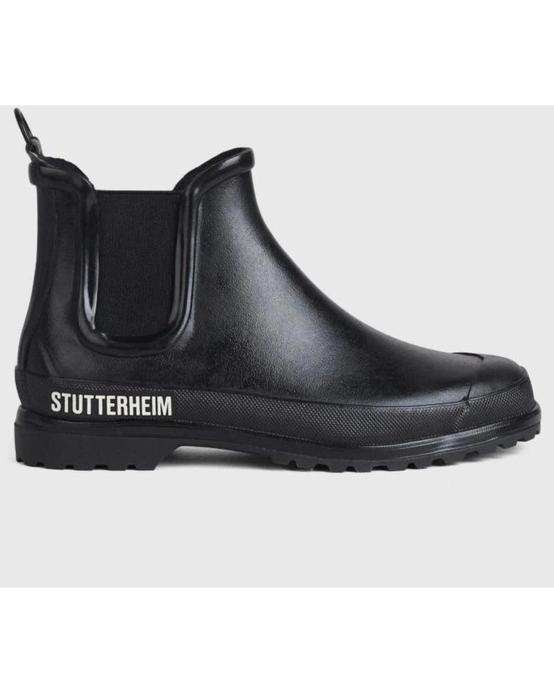 Stutterheim Chelsea rainwalker - Black/Black