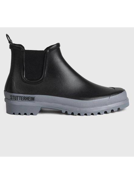 Stutterheim Chelsea rainwalker - Black/ Grey
