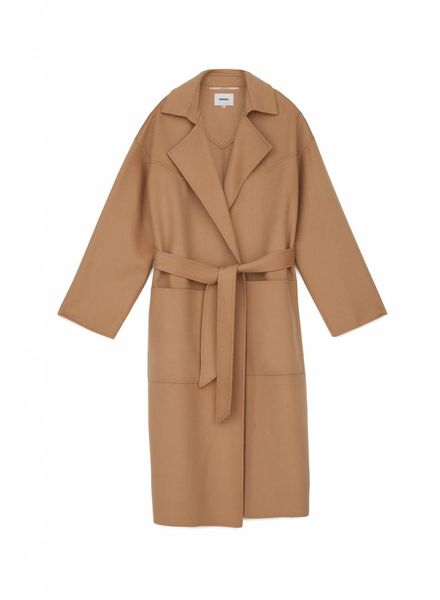 Nanushka Alamo coat - Camel