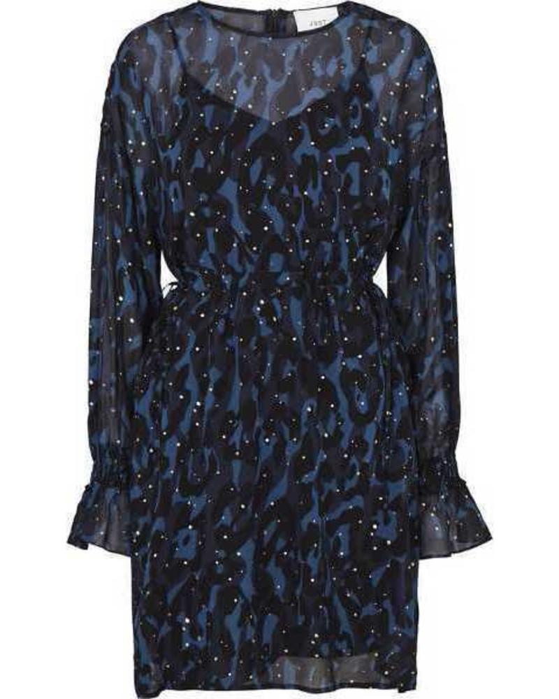 Just Female Melys dress - Camu leo foil aop