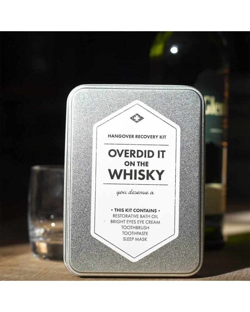 Men's Society Hangover Recovery Kit - Overdid It On The Whiskey