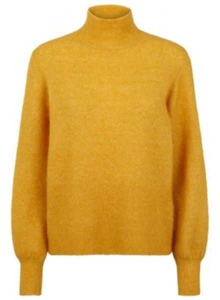 Just Female Theo knit - Golden Yellow
