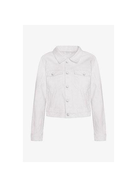 Anine Bing Alex denim jacket - White