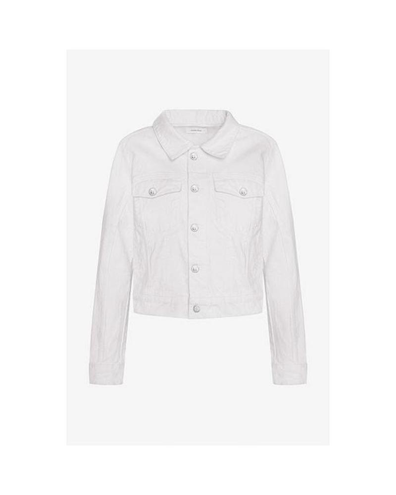 Anine Bing Alex denim jacket - White