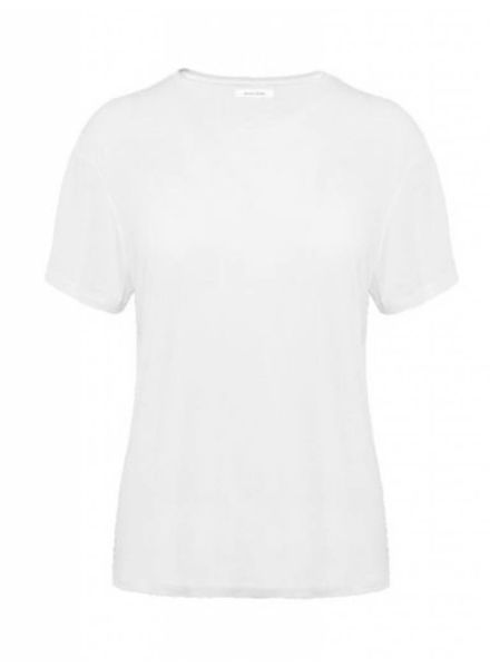 Anine Bing Crew Neck T-shirt - White