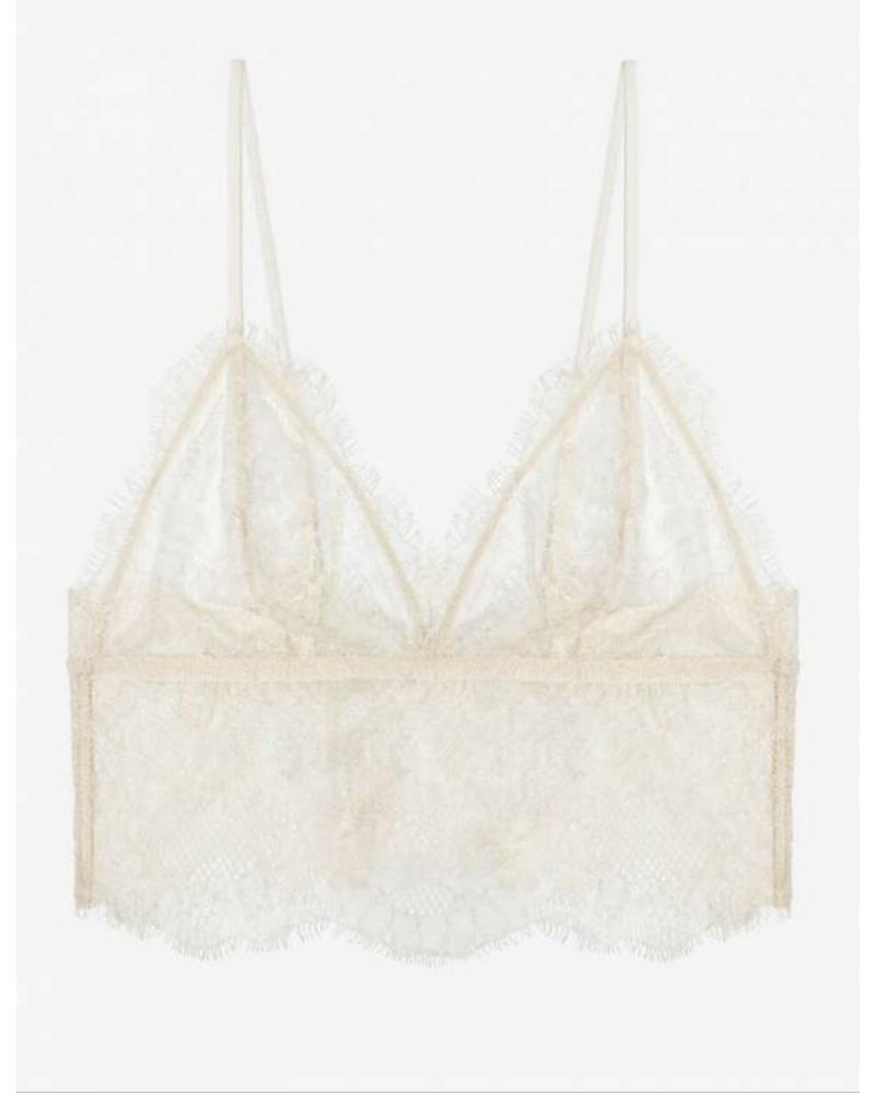 Anine Bing Lace bralette - Nude