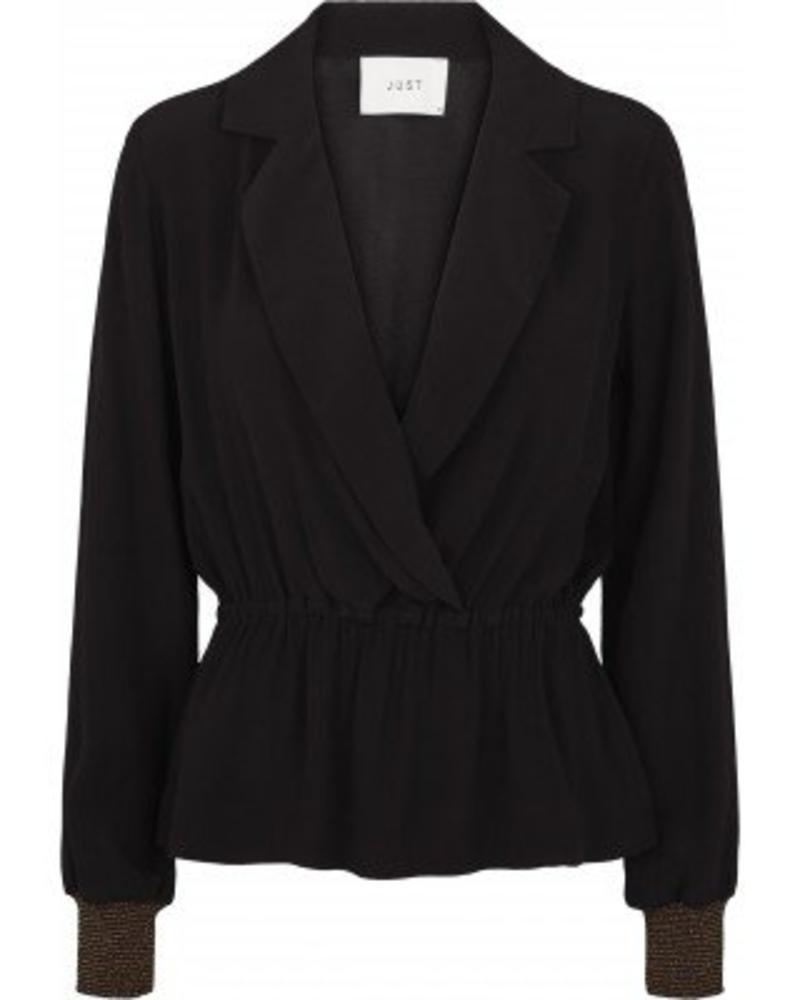 Just Female Lauren blouse - Black
