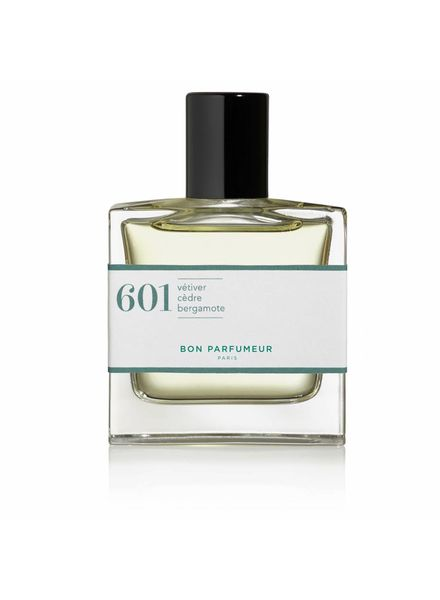 Bon Parfumeur 601 vetiver, cedar, bergamot
