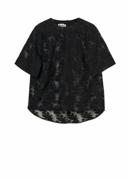 Hope Trust shirt - Black Jacquard