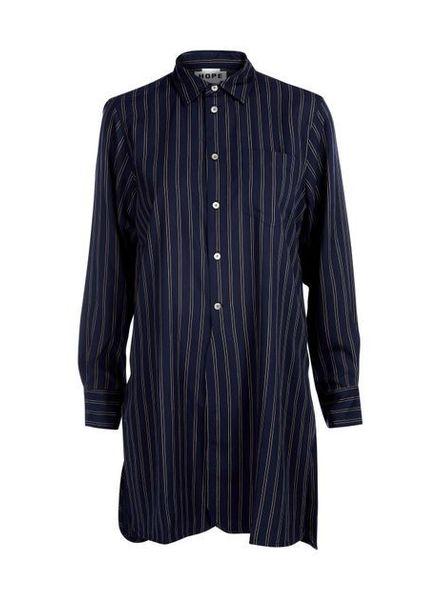 Hope Coast shirt - Navy stripe