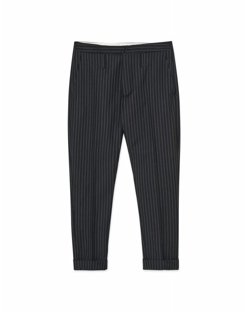 Hope Law trousers - Dk Grey Stripe