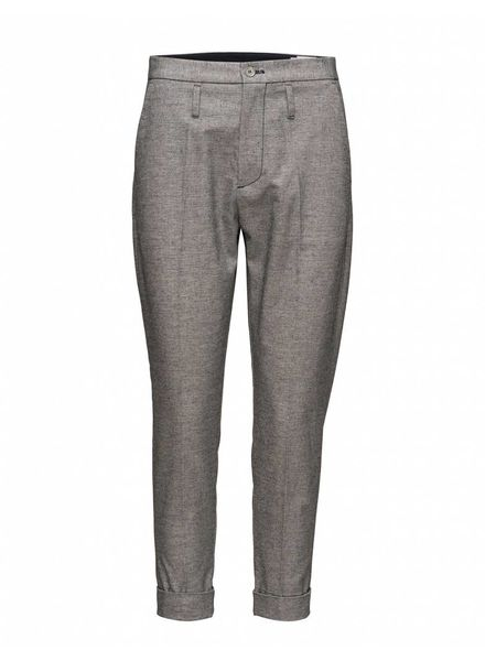 Hope Law Trouser - Dk Blue Mel
