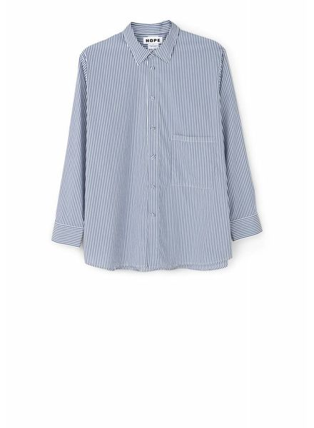 Hope Elma Shirt - Blue Stripe