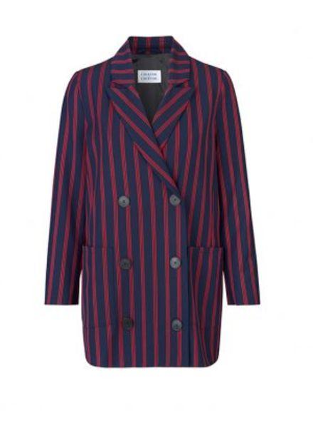 Libertine Libertine Shift Blazer - Red stripe