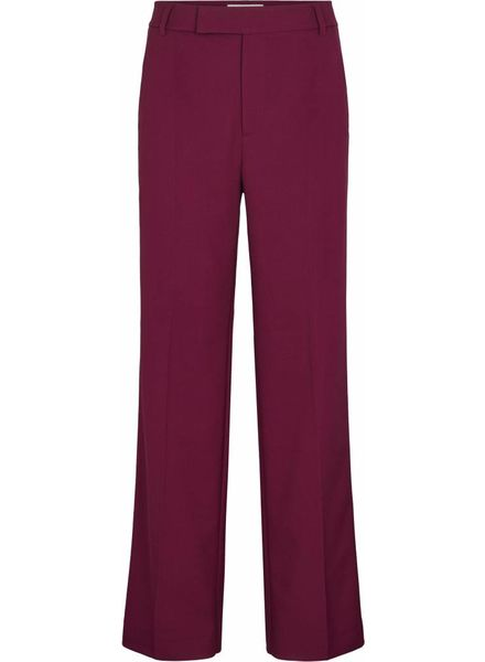 Just Female Max trousers - Magenta plum