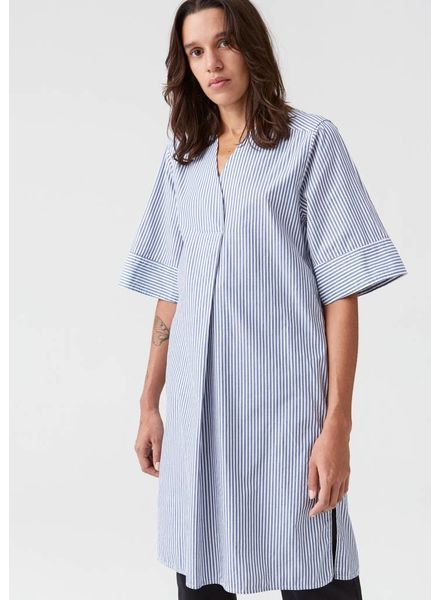 Hope Mono dress - Blue stripe