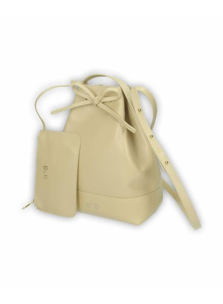 N°8 Antwerp Bucket bag - Piedra