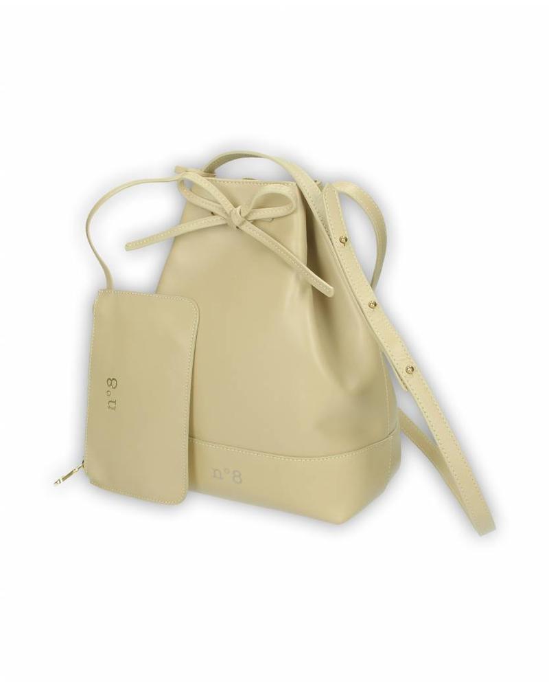 N°8 Antwerp Bucket bag - Piedra