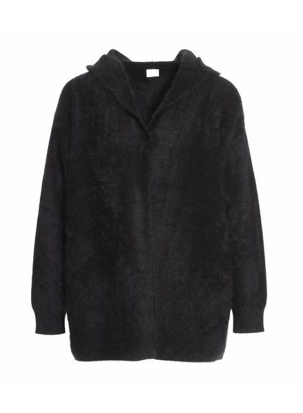 CT Plage Raccoon hoodie - Black
