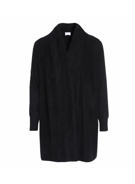 CT Plage Raccoon knitted cardigan - Black