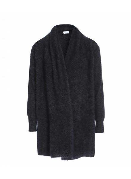 CT Plage Raccoon knitted cardigan - Grey
