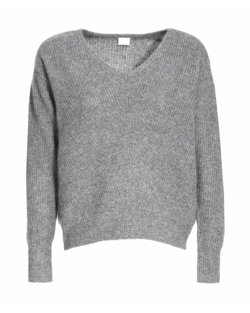 CT Plage Cashmere knitted pullover - Dark Grey