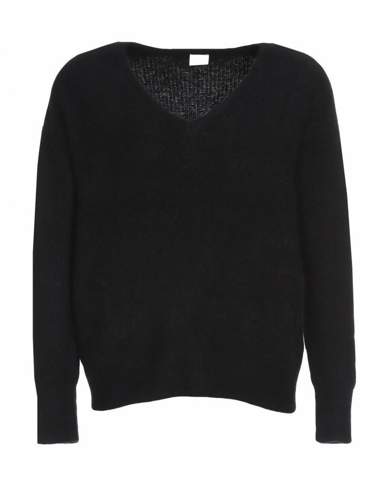 CT Plage Cashmere knitted pullover - Black 36