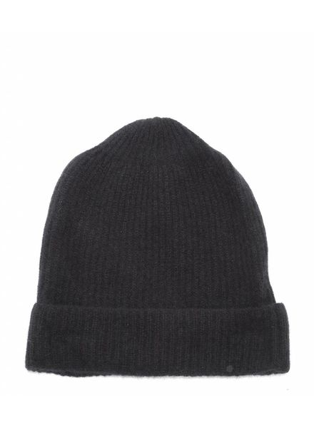 CT Plage Cashmere knitted beanie - Black