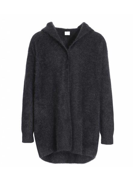 CT Plage Raccoon hoodie - Dark Grey