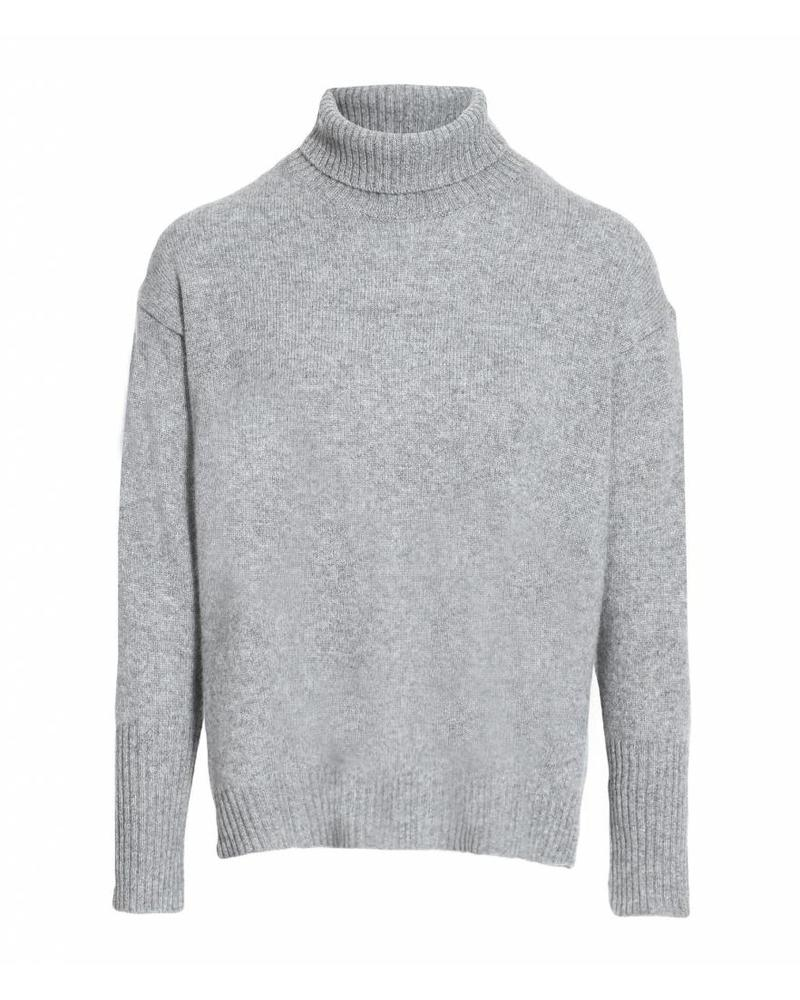CT Plage Cashmere knitted pullover - L Grey