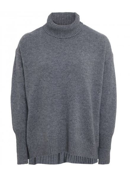 CT Plage Cashmere knitted pullover - D Grey